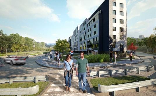 """""""K17"""" - naujos statybos butai Vilniuje, Šnipiškėse, Kernavės gatvėje. Nauji butai Vilniuje, Šnipiškėse šalia Žalgirio, Geležinio Vilko ir Kalvarijų gatvių."""