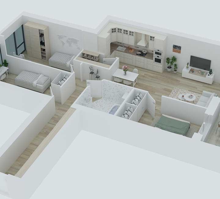 """""""K17"""" – naujos statybos, A energetinės klasės butai Vilniuje. Aukštos kokybės medžiagos, energiją taupančios inžinerinės sistemos, funkcionalumas ir modernūs statybų sprendimai."""